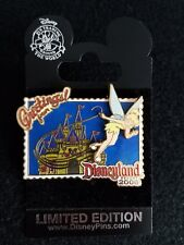 Dlr Disney Greetings From Disneyland Resort Tinker Bell Castle Pin Le On Card