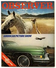 Observer Magazine 1 April 1979 Arthur Miller Graham Donald Sutherland