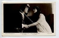 (Ga7735-100) Real Photo of Lang & Britton, Theatre Actors 1909 Used G-VG
