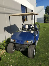 EZGO TXT Blue 4 Passenger Seat Golf Cart Car 36V medalist