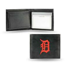Detroit Tigers Wallet Embroidered Billfold Genuine Leather