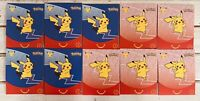 McDonald's Pokemon CARD Packs 25th Anniversary Promo Set/Lot of10 Sets/Fast Ship