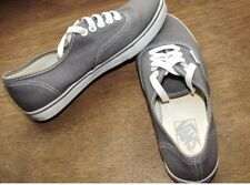 Vans off the wall grey unisex trainers/shoes men us 4; wo`s us 5.5