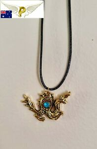 Exclusive Raya & The Last Dragon Necklace Pendant Sisu Collectable or Daily Use