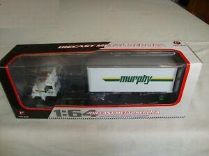 FIRST GEAR 60-0242 1:64 MACK R MODEL WITH TRAILER 'MURPHY' - MINT in BOX