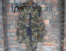 POLISH ARMY BULLETPROOF  WOODLAND  MILITARY PAINTBALL BODY ARMOUR COVER ASG