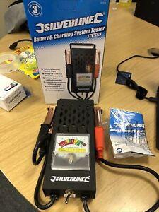 P227 Silverline Car Battery & Alternator Charging System Tester for 6V/12V