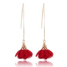 Flowers Tassel Bohemian Women Hook Long Earrings Charming Dangle Eardrop Gift