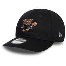 New Era Infant Kids NFL Chicago Bears Navy Blue 9FORTY Stretch Back Cap