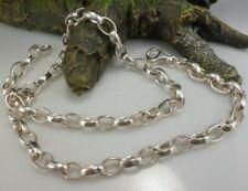 Anker Halskette in 925 Silber 45,5 cm lang
