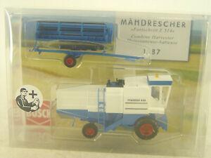Mähdrescher Fortschritt mit Fahrer - Busch HO Modell 1:87 - 40177 #E
