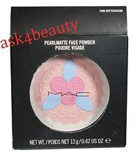 Mac Pearlmatte Face Powder (Pink ButterCream)  0.42oz/12g New In Box