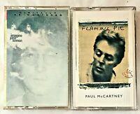 VTG LOT OF 2 Cassette Tapes. Flaming Pie- Paul McCartney. Imagine- John lennon