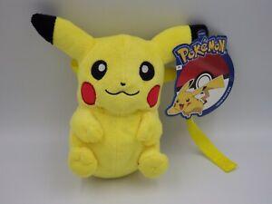 Plush Pokemon Pikachu cross Body Bag Sack Shoulder Strap 21 CM