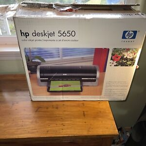 HP Invent DeskJet Printer 5650 Color Inkjet New open box