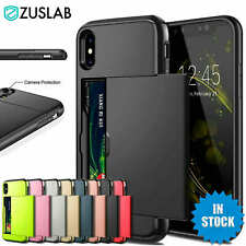 For iPhone X XS Max XR iPhone 8 Plus iPhone 7 Plus Wallet Card Holder Case Cover