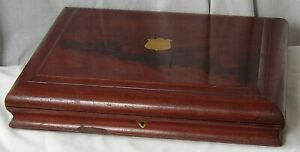 ANTIQUE EMPTY CUTLERY BOX FOR RESTORATION