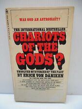 Vintage Chariots of the Gods? Erich Von Daniken 1971 3RD EDBantam PAPERBACK Book