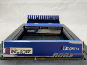 LOT 9 KINGSTON CORSAIR 2GB DDR3 PC3-12800 1600 1.5V-1.65V NONECC DIMM MEMORY RAM