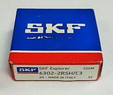 1 Stk SKF 6302 2RSH/C3 Rillenkugellager Kugellager 15x42x15 Neu Bearing
