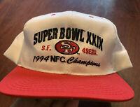 Vintage American Needle SF 49ers NFL SuperBowl XXIX Champions Snapback Hat 1994