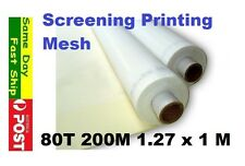 80t 200M Mesh for Silk Screen Printing Size: 127 x 100 cm AU local fast ship