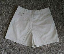 CROFT & BARROW Women's Shorts Sz 10 Stretch Cotton Khaki Beige