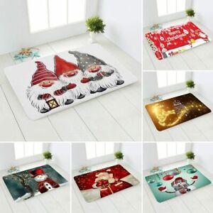 Santa Claus Carpet Decoration Home Christmas Gifts Christmas Ornament Carpets