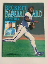 Beckett Baseball Monthly Issue 51 June 1989 Bo Jackson Ellis Burks