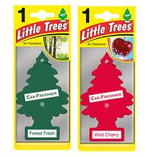 2 x Magic Tree Little Trees Car Air Freshener Scent FOREST FRESH + WILD CHERRY