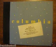 Sir Thomas Beecham on 78 rpm Columbia Album X-54 Borodin Mozart