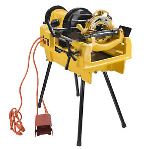 Steel Dragon Tools® 1224 Pipe Threading Machine fits RIDGID® 711 Die Head 26092