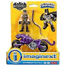 Fisher Price Imaginext DC Streets of Gotham - Catwoman & Cycle - Brand New