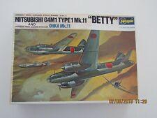 Hasegawa Minicraft 1/72 Mitsubishi G4M1 Betty Type 1 And Ohka Attack Bomber Wwii