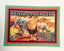23rd world scout jamboree KENYA CONTINGENT BADGE 2015