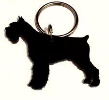 handmade Schnauzer Hund Schlüsselring/Schlüsselband/Schlüsselbund/Geschenk