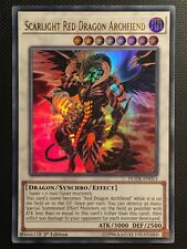 YUGIOH!! Scarlight Red Dragon Archfiend DUDE-EN013! Ultra Rare! Near Mint! 1st!