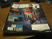 """Derrick Rose ESPN Magazine OCT2014 ISSUE - """"DERRICK ROSE returns again"""""""