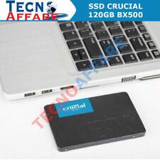 SSD CRUCIAL 120GB BX500 PC Gaming 500 MB/s CT120BX500SSD1 Sconto Quantità