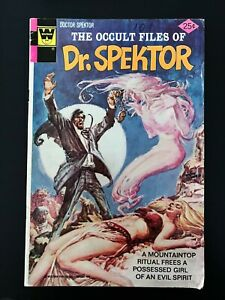 THE OCCULT FILES OF DOCTOR SPEKTOR #18 WHITMAN EDITION COMICS 1976 FN/VF