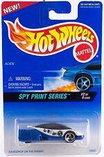 Hot Wheels No. 554 Spy Print Series #2 Alien 3 SP's MOC