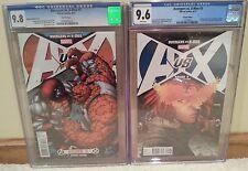 Avengers vs X-Men #5 CGC 9.8 / 9.6 Keown 1:25 & Ryan Stegman 1:100 Variants