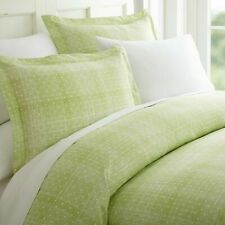 Hotel Quality 3-Piece Ultra Soft Patterned Duvet Cover Set Moss Green