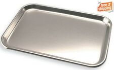 "Stainless Steel Instrument Tray 9-3/4""x13-1/2""Repl. for Adec 043.001.00 DCI#8013"