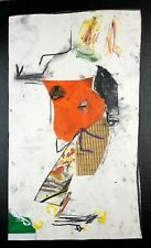THE NEW... - Woman Figure Drawing Collage Painting Steven Tannenbaum Original