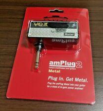 VOX amPlug 2 Metal Headphone Guitar Amplifier - NEW - Free Shipping