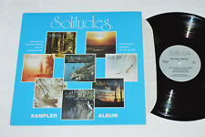 SOLITUDES Sampler Dan Gibson Relaxation LP 1984 Environmental Sound SDG-84 VG+