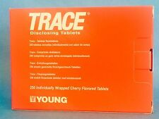 Trace Plaque Disclosing Tablets - Cherry Flavor ( 1 Pack of 250 )