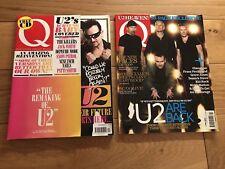U2 Collectors Item Q Magazine 2009 And 2011