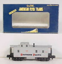 American Flyer 6-48714 S Scale Southern Pacific Offset Cupola Caboose NIB